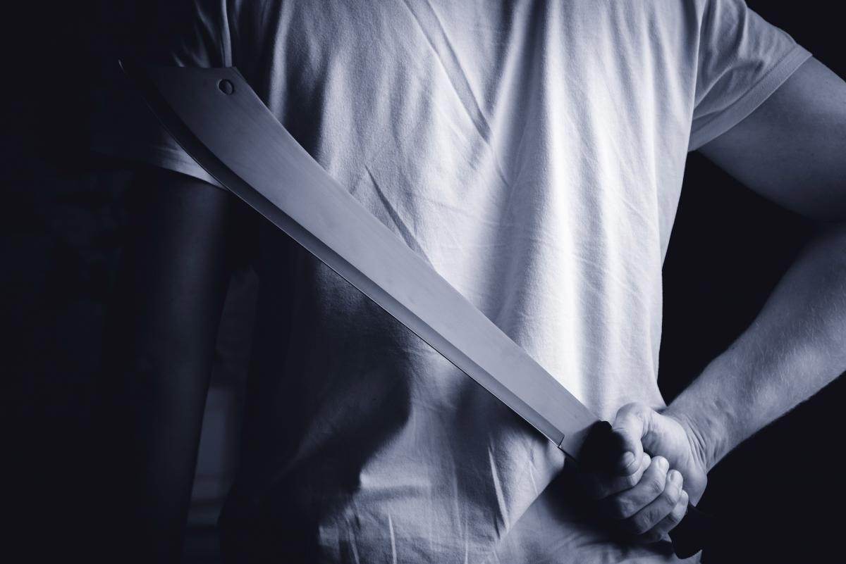 Парень с мачете ворвался в детский сад и убил трех детей / фото ua.depositphotos.com