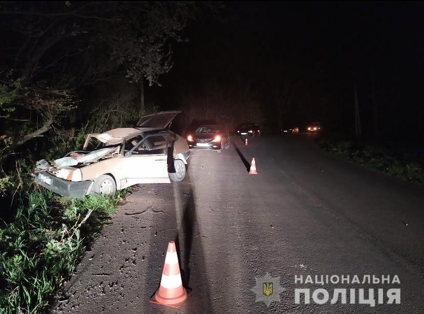 На Львовщине водитель под наркотиками совершил ДТП и потерял жену / фото lv.npu.gov.ua