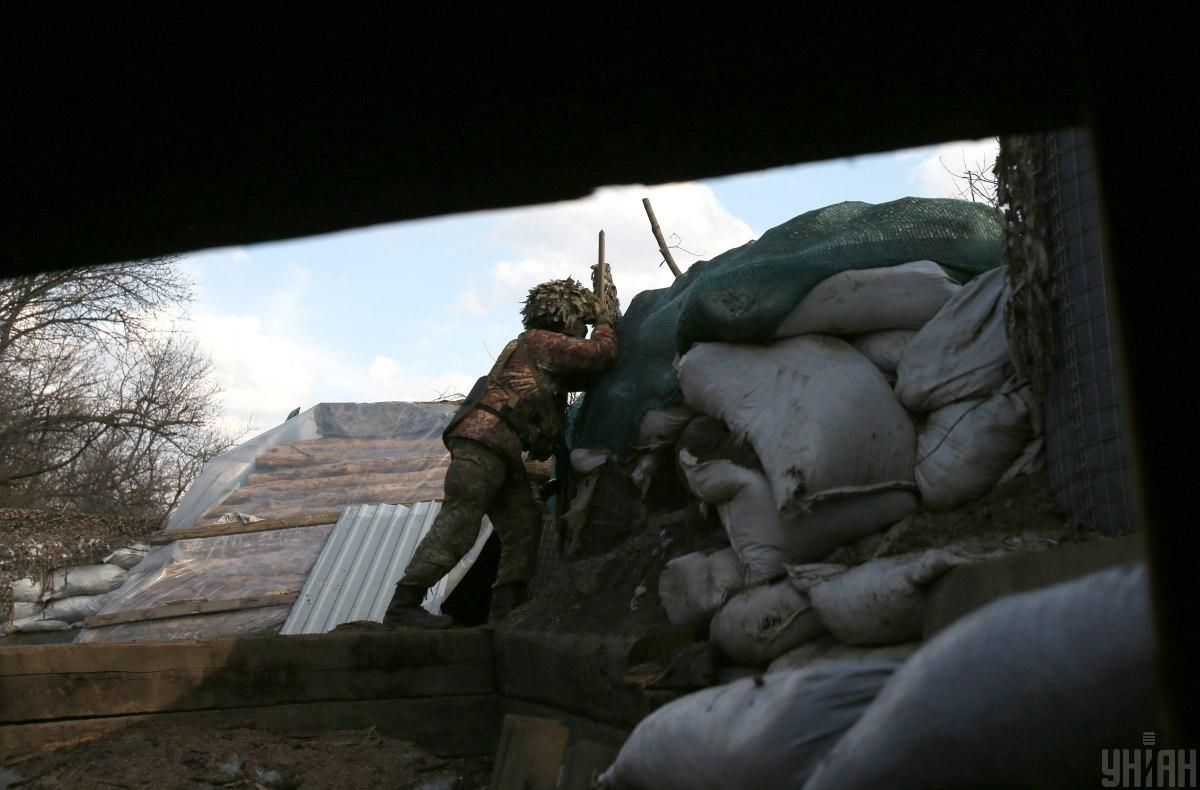 One KIA amid nine truce violations in Donbas on May 27 / Photo from UNIAN