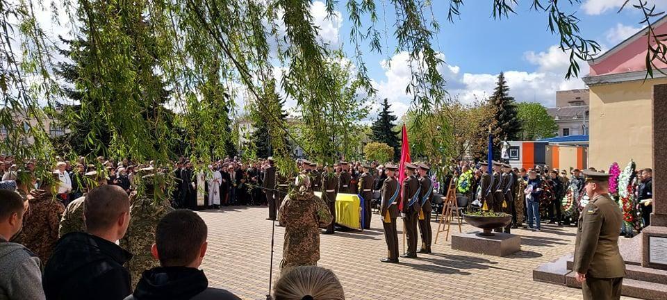 Похорон загиблого українського військового / УНІАН