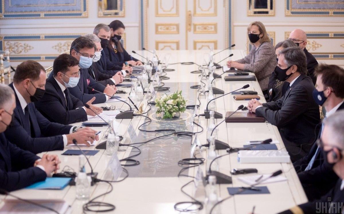 Блінкен підтвердив сильне партнерство між США і Україною / фото УНІАН