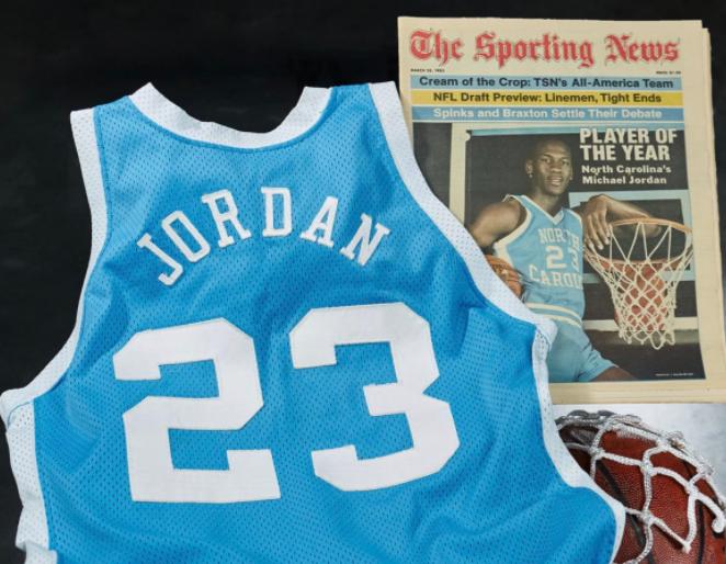 Джордан является шестикратным чемпионом НБА / фото Heritage Auctions Sports