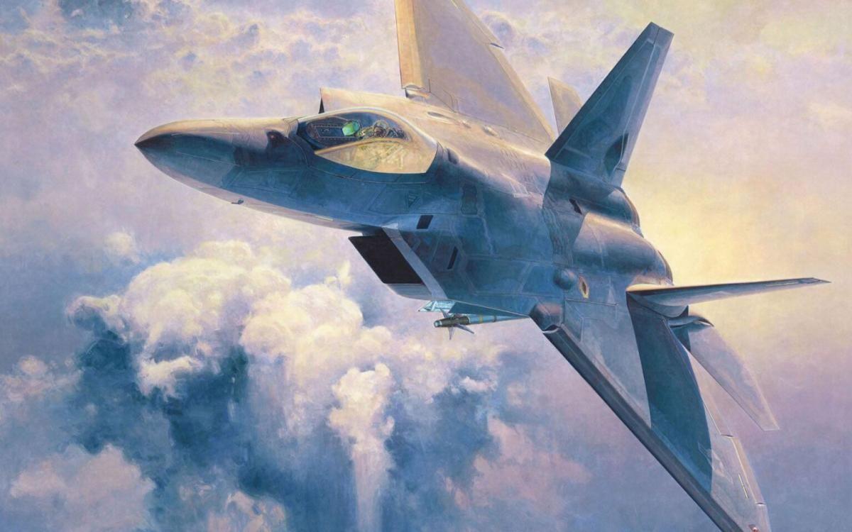 США избавится от истребителей F-22 Raptor / фото militarycabinet.com