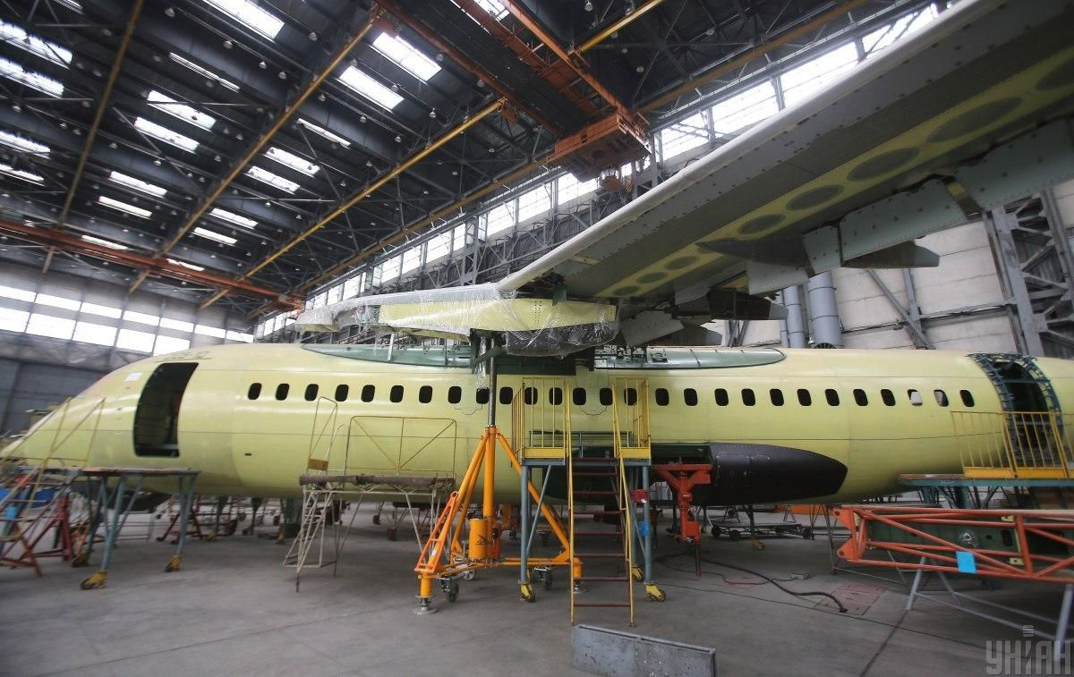 An assembly workshop at Antonov / Photo from UNIAN