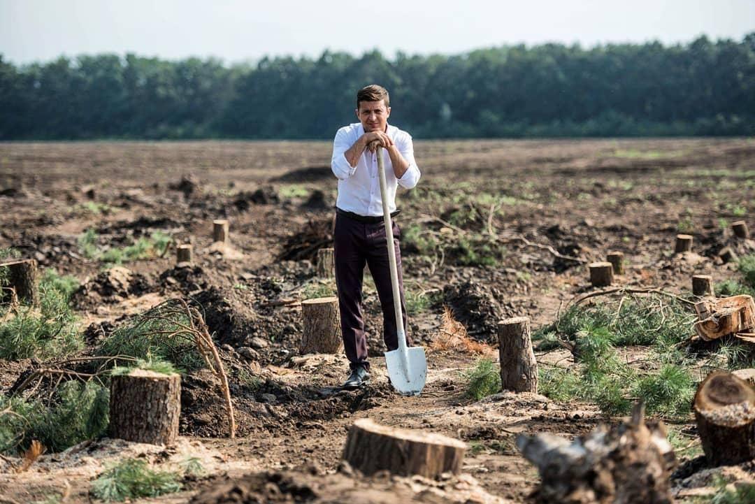 Zelensky announces 1 billion trees will be planted in Ukraine / Photo from instagram.com/sluga95