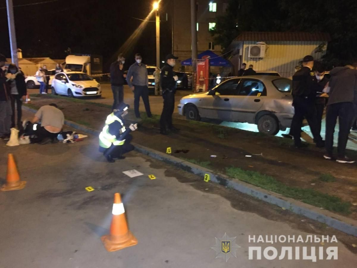 The explosion in Kharkiv / Photo from hk.npu.gov.ua