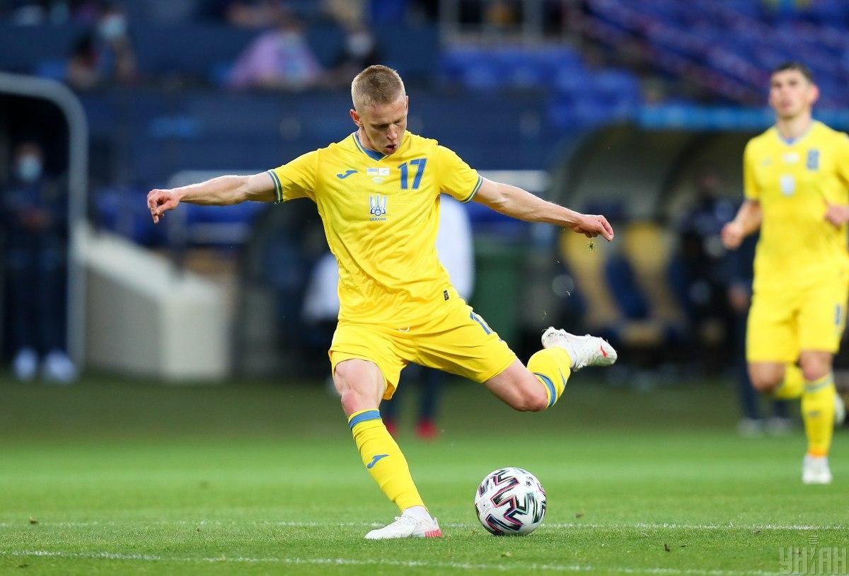 Александр Зинченко - лидер сборной Украины / фото УНИАН