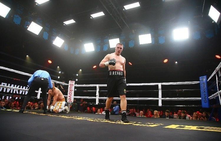 Владислав Сіренко виграв у головному бою вечора / фото В1 Boxing Promotions