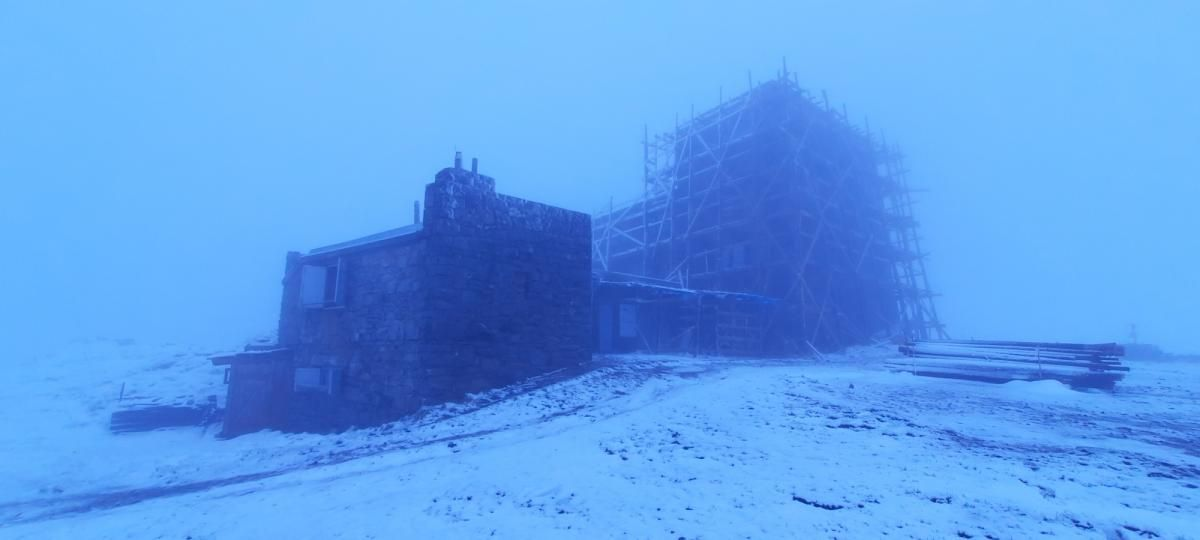 У Карпатах знову випав сніг / фото Чорногірський гірський пошуково-рятувальний пост