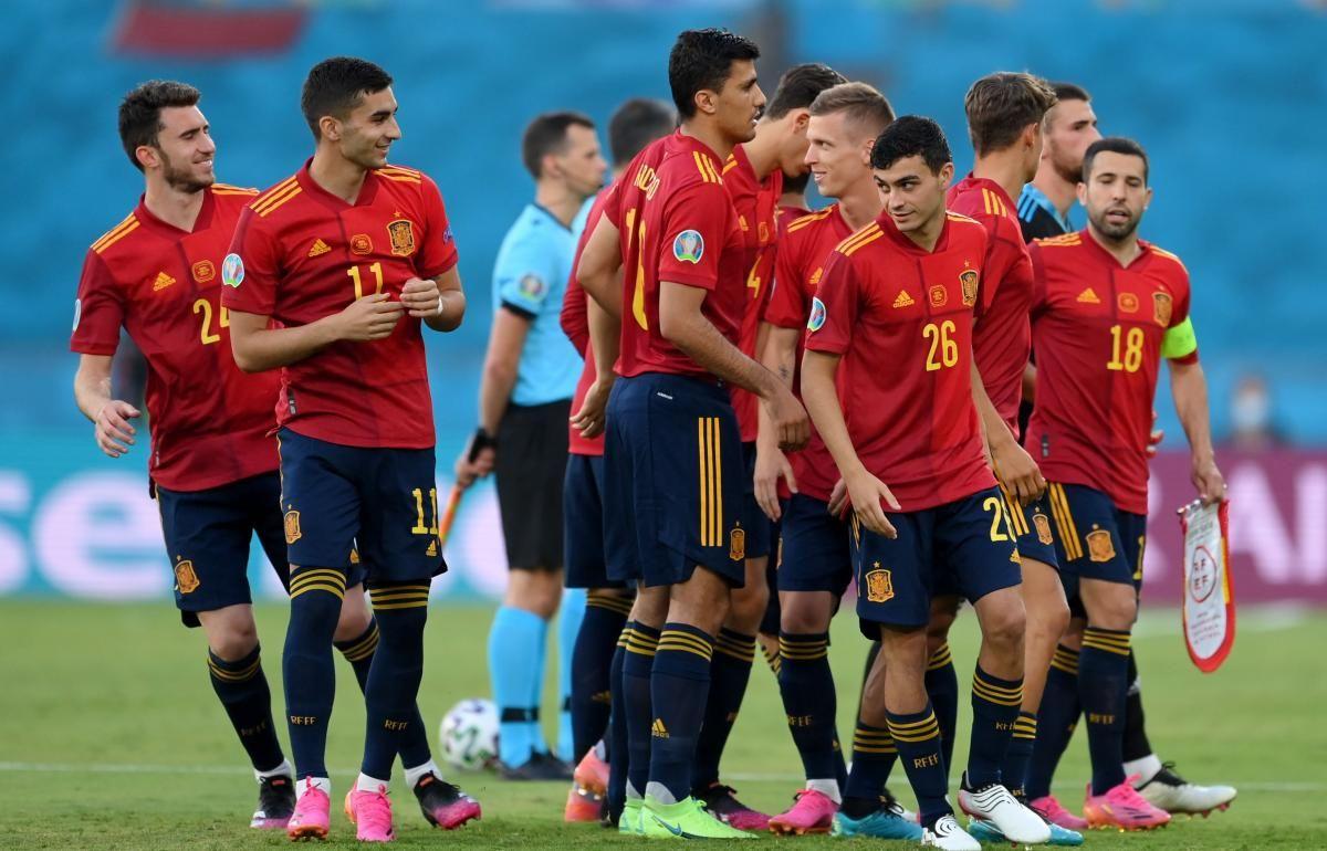 Футболісти збірної Іспанії / фото REUTERS
