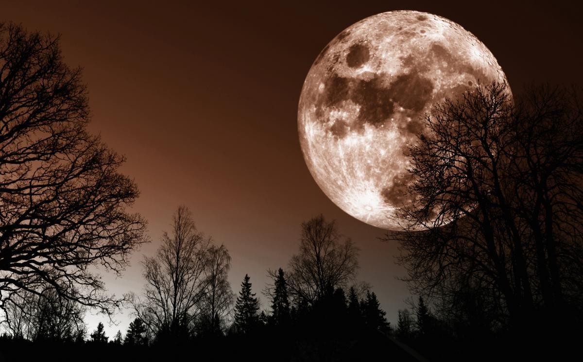 Лунное затмение / ru.depositphotos.com