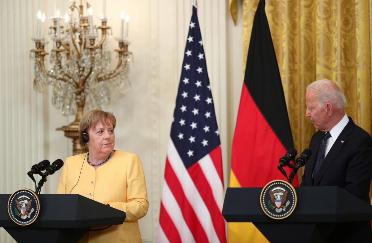 """Німеччина і США офіційно домовились про """"Північний потік-2"""" / фото REUTERS"""