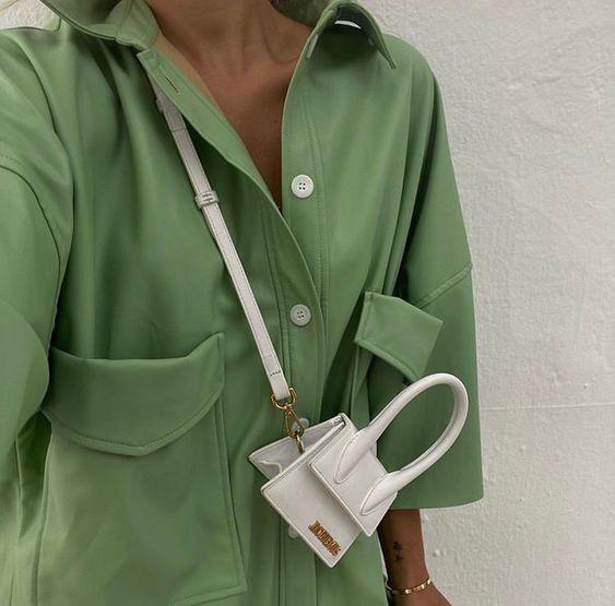 Мини-сумки в тренде / pinterest.com