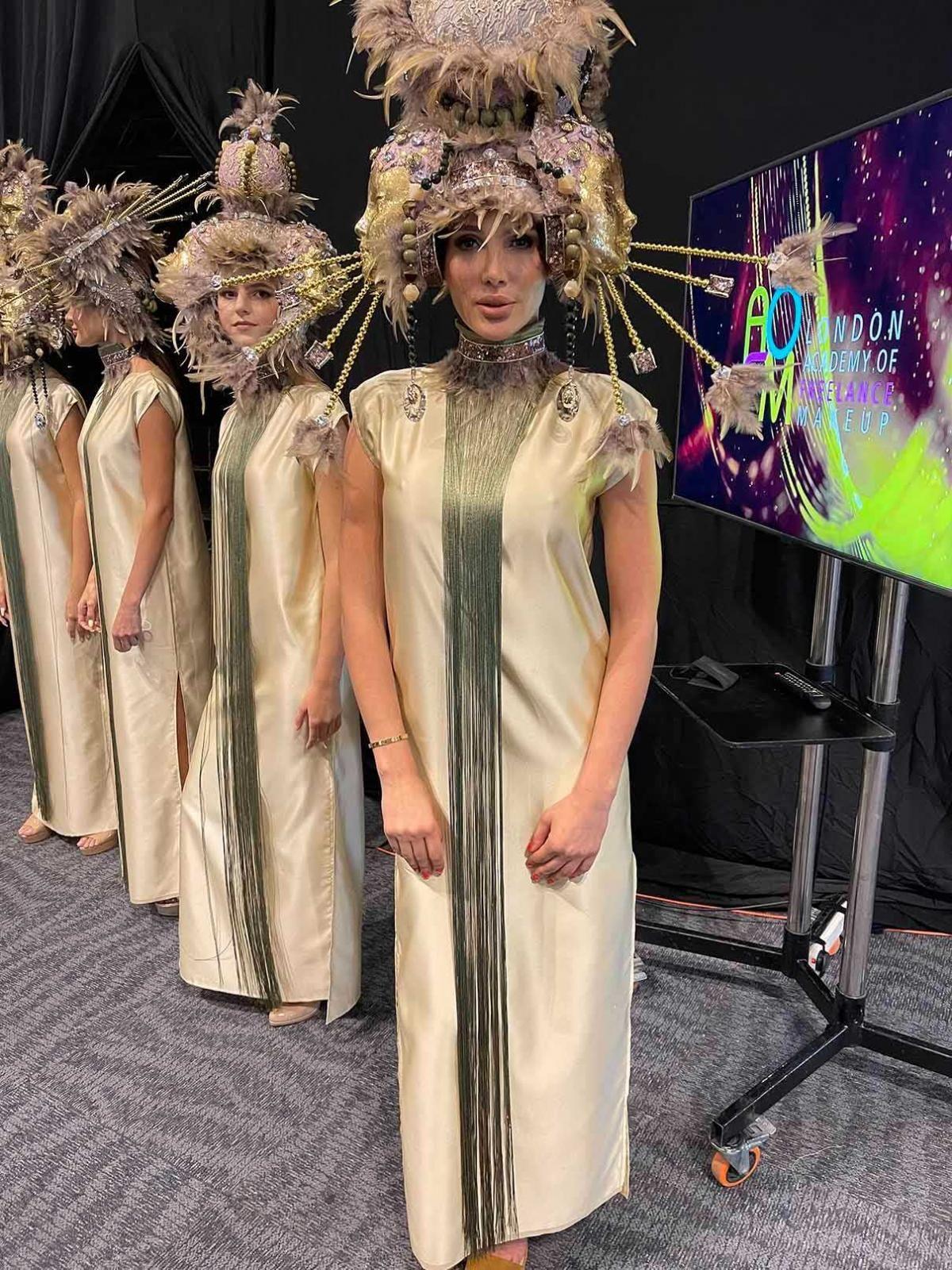Гомонова посетила Неделю моды в Дубай / фото Master Management 360