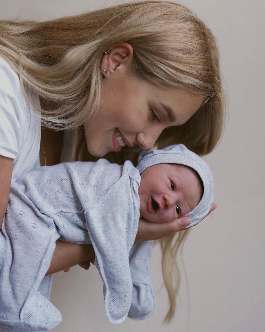 Квіткова і Добринін охрестили сина / instagram.com/kvittkova