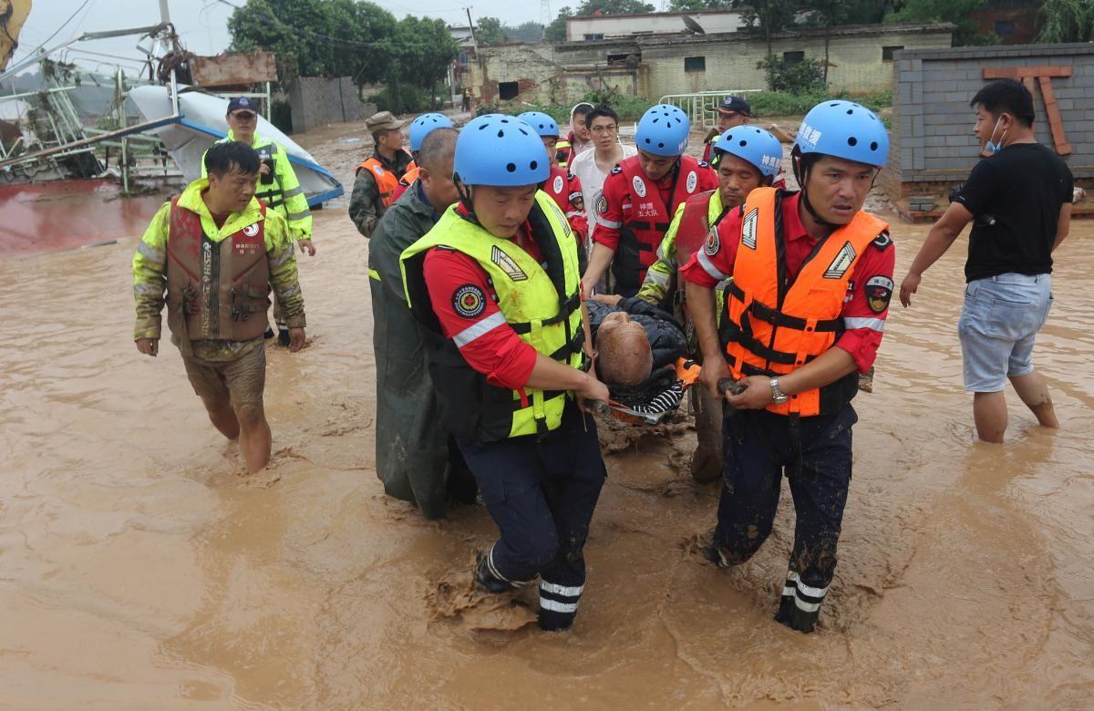 Наводнение в Китае стало крупнейшим за последние тысячу лет / REUTERS