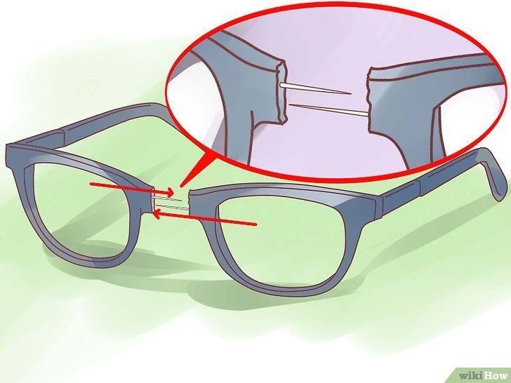 Как починить сломанные очки / фото ru.wikihow.com