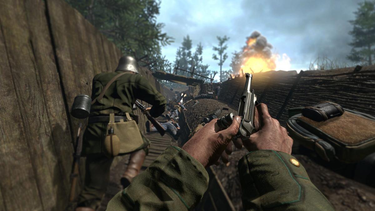 Кадр з гри Verdun / фото M2H