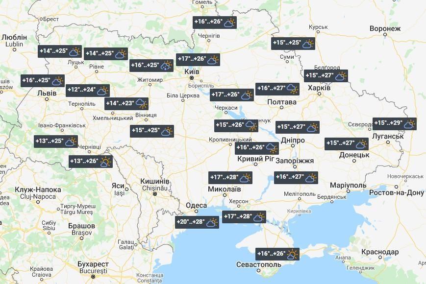 Погода в Україні 24 липня / фото УНІАН
