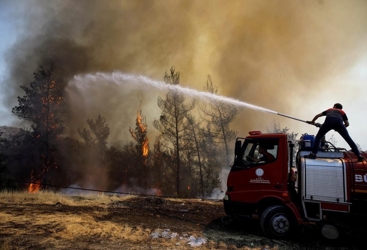 Пожежа в Туреччині / фото REUTERS