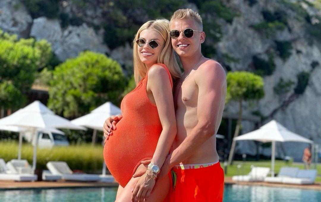 Олександр Зінченко і Влада Седан чекають дитину / фото instagram.com/zinchenko_96