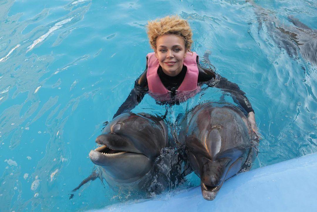 Алина Гросу посетила дельфинарий вместе со своей семьей / instagram.com/alina_grosu