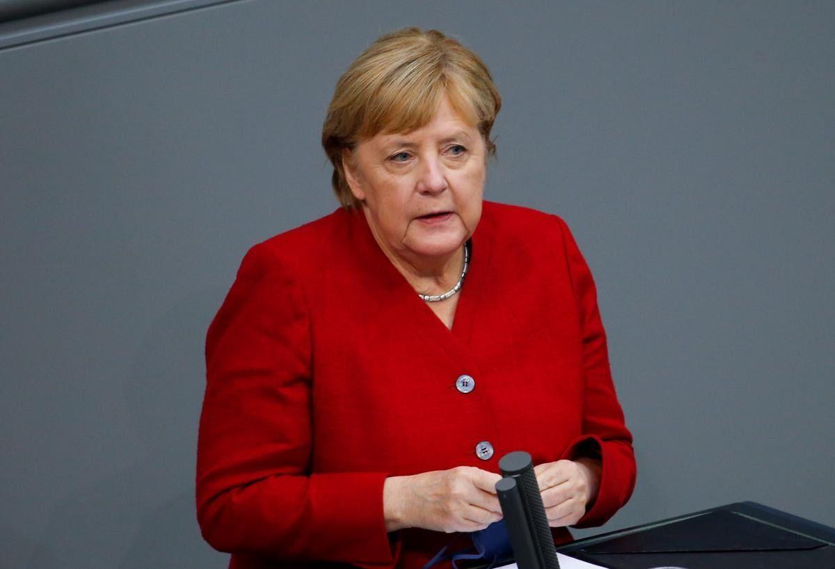 Меркель подчеркнула важность того, что Украина оставалась транзитером газа \ фото REUTERS