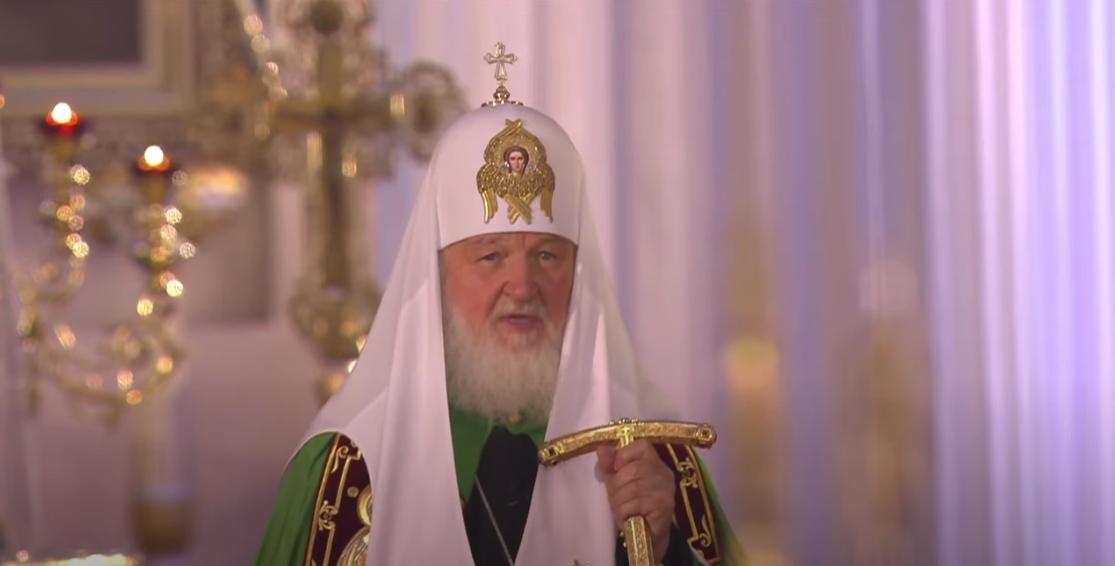 Патріарх Кирил / скріншот