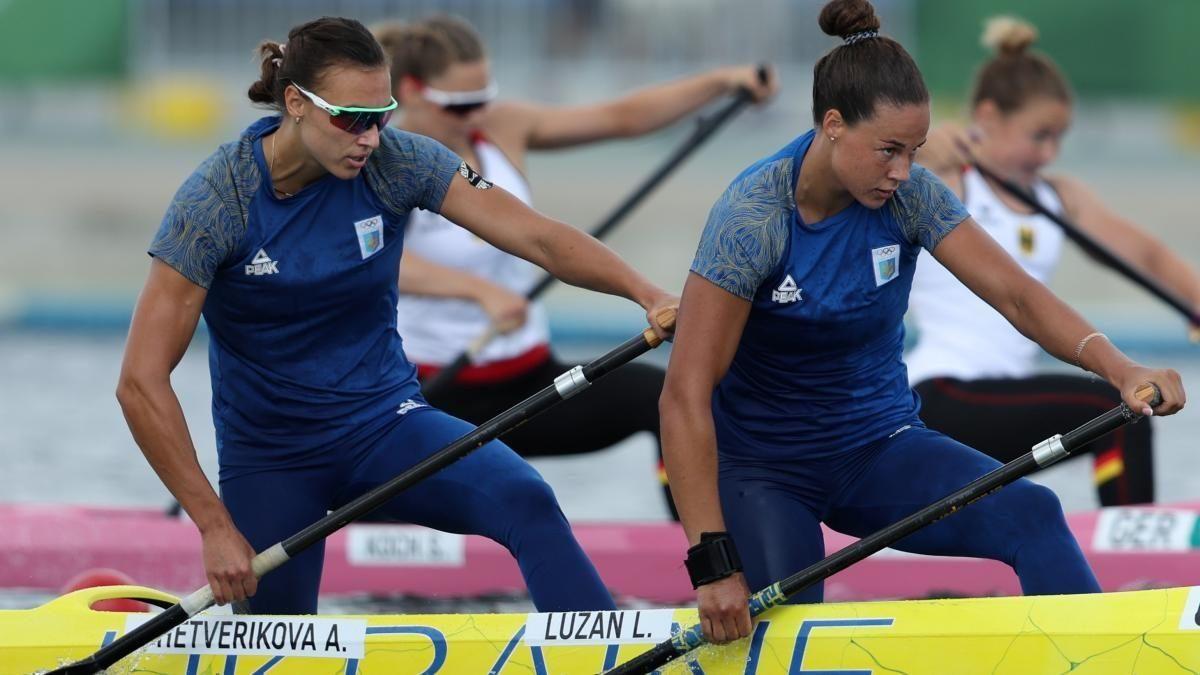 Анастасія Четверікова і Людмила Лузан / фото REUTERS