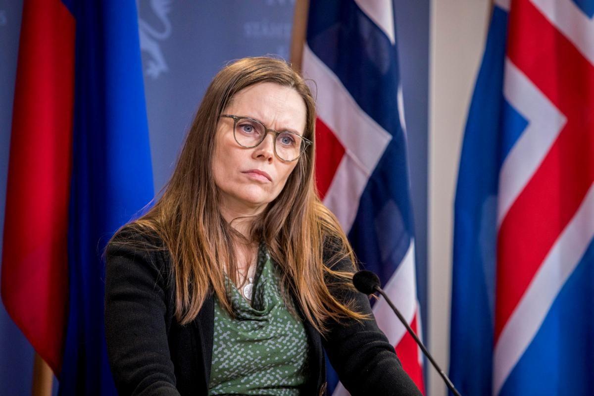 Премьер-министр Исландии Катрин Якобсдоттир вероятно покинет свой пост / фото REUTERS