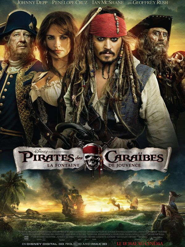 Pirates des Caraïbes La Fontaine de Jouvence 3D 2011 Full BluRay Multi True French ISO BDR50 MPEG-4 DTS-HD High-Res FreexOptique