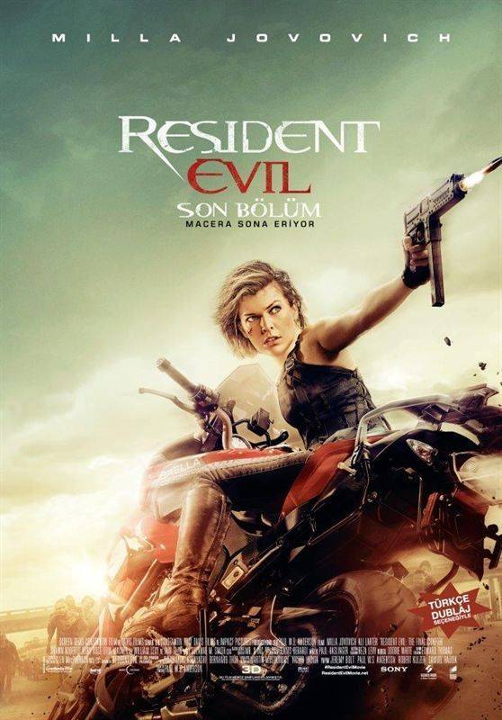 Resident Evil The Final Chapter 2016 MULTI 2160p BluRay 4K HDR DTS-HD MA 7 1 x265-AZAZE
