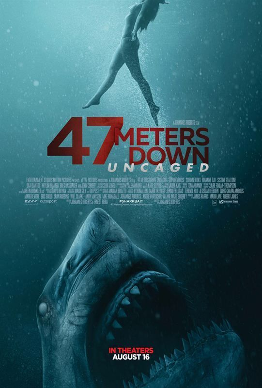 47 Meters Down Uncaged (1080p) (2019) Multi-Truefrench x264 web-dl mkv