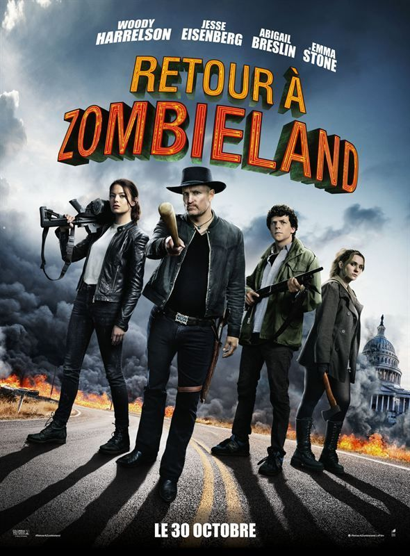 Retour à Zombieland 2019 BluRay True French ISO BDR25 MPEG-4 AVC DTS HD Master FreexOptique