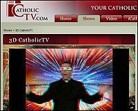 Emision de Catholic TV en 3d