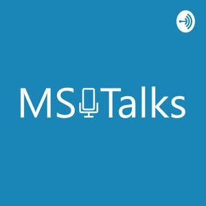 Logo podcastu: MS Talks