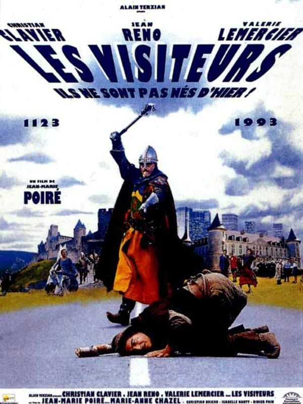 Les visiteurs 1993 Remastered 2K 1080p HDrip X265 FRENCH DTS-HD 5 1-iDySoNaP