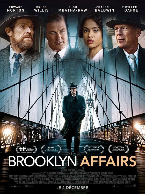 Motherless Brooklyn 2019 2160p 4K HDR 10bits HEVC Webrip