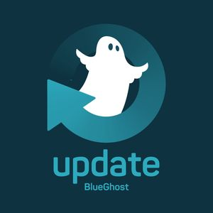 Logo podcastu: BlueGhost Update