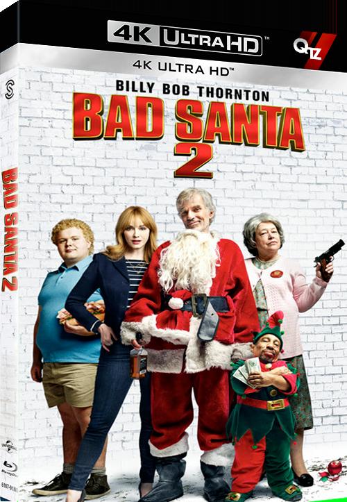 Bad Santa 2 (2016) REPACK MULTI VFF 2160p 10bit 4KLight SDR BluRay AC3 5 1 x265-QTZ