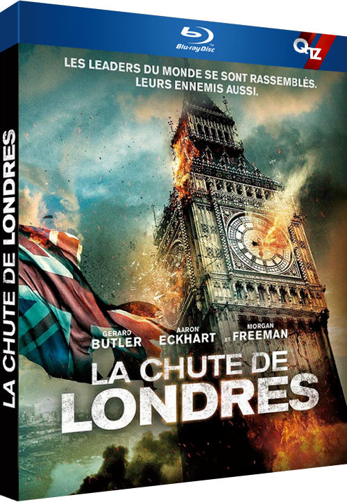 La Chute de Londres (2016) MULTi VFF 1080p 10bit HDLight BluRay HE-AAC 5 1 x265-QTZ (London Has Fallen)