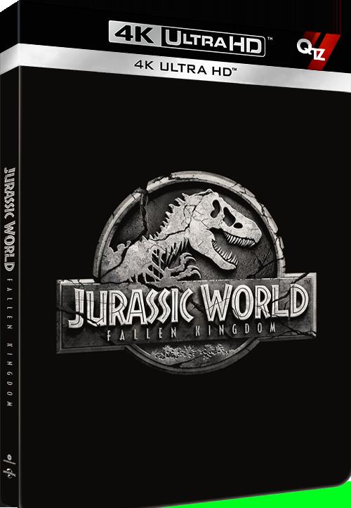 Jurassic World - Fallen Kingdom (2018) MULTi VFF 2160p 10bit 4KLight HDR BluRay AC3 5 1 x265-QTZ