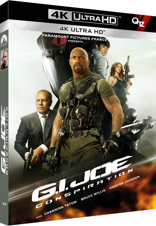 G I  Joe - Conspiration (2013) MULTi VFF 2160p 10bit 4KLight HDR BluRay AC3 5 1 x265-QTZ (G I  Joe Retaliation)