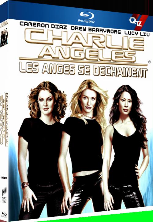 Charlie's Angels - Les Anges se Déchaînent (2003) MULTi VFF 1080p 10bit HDLight BluRay HE-AAC 5 1 x265-QTZ ( Charlies Angels Full Throttle)