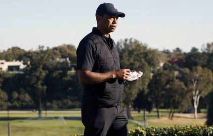 tiger, woods, hospitalise, accident