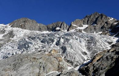 isere, alpes, glacier, disparition, alpiniste