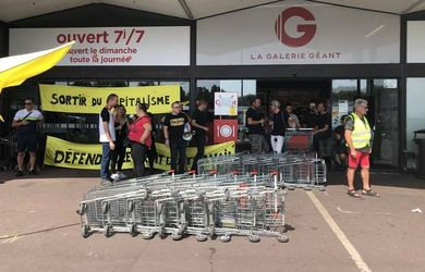hypermarche, angers, caissiers