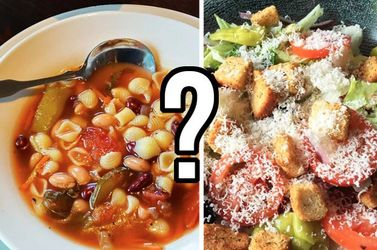 Build A Meal At Olive Garden And We'll Guess Your Exact Age