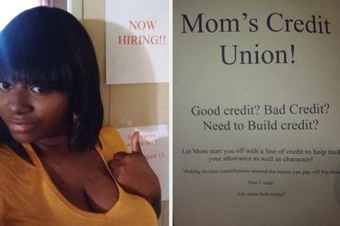 This Woman Put Up A Job Fair Of House Chores For Her Kids To Apply To And Y'all Should Take Notes