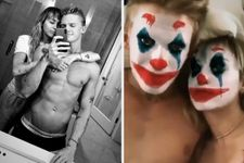 Miley Cyrus And Cody Simpson Made Out As The Joker And It's A Lot To Handle